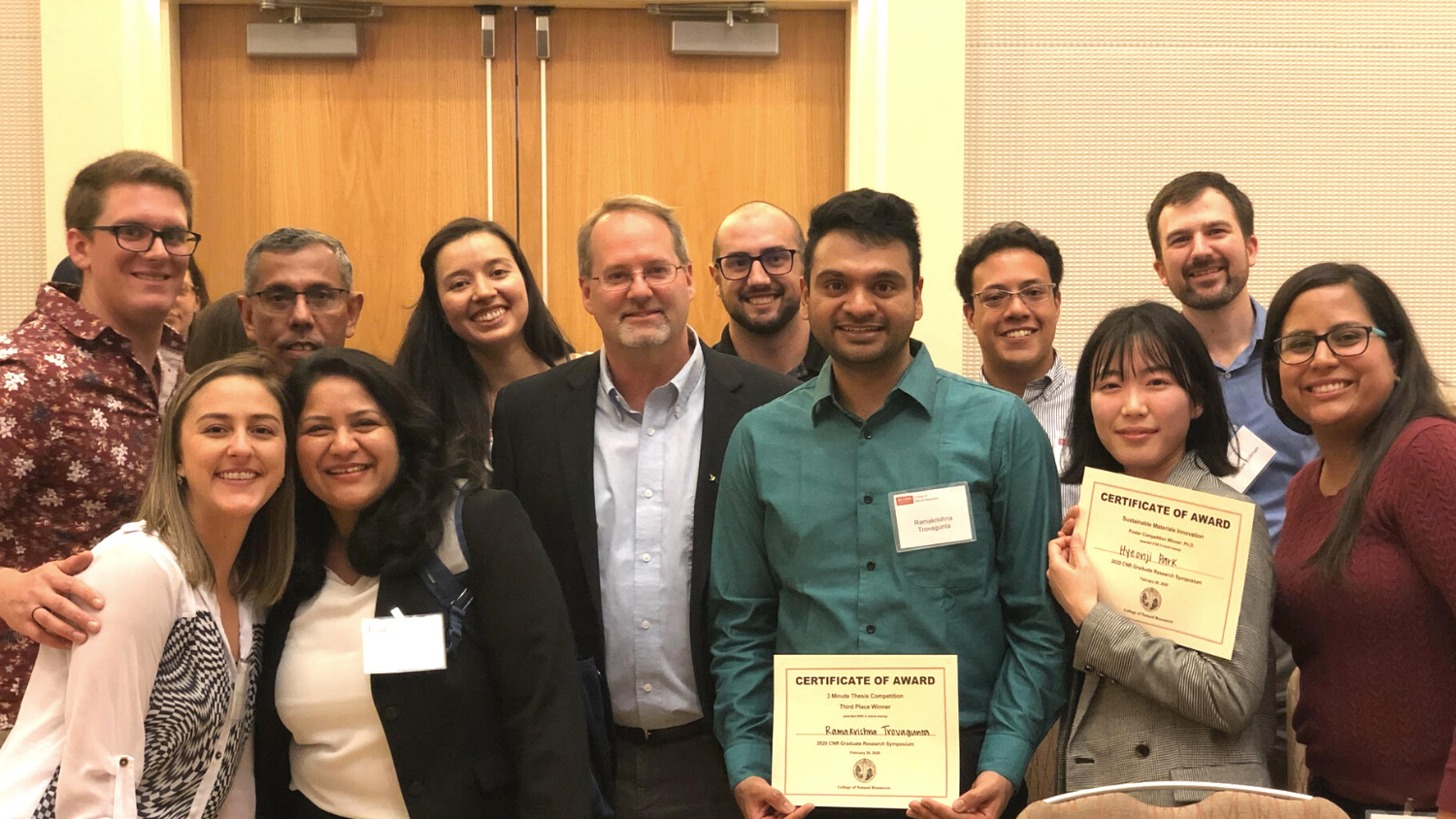 Group Photo - 2020 Graduate Research Symposium: Forest Biomaterials - Forest Biomaterials NC State University