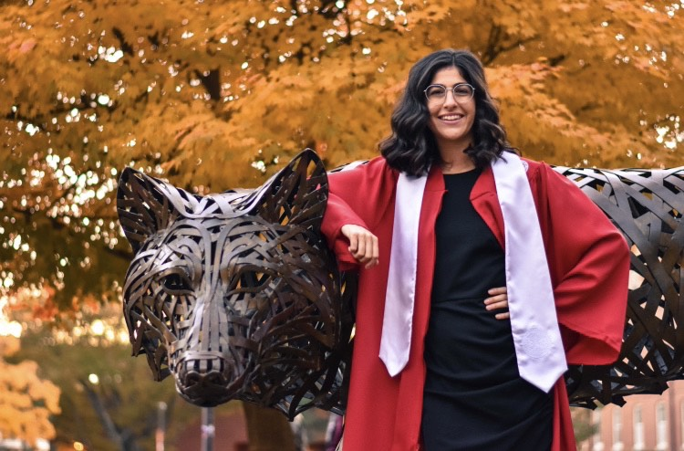 Kat Santoro - Class of '19 - Forest Biomaterials NC State University