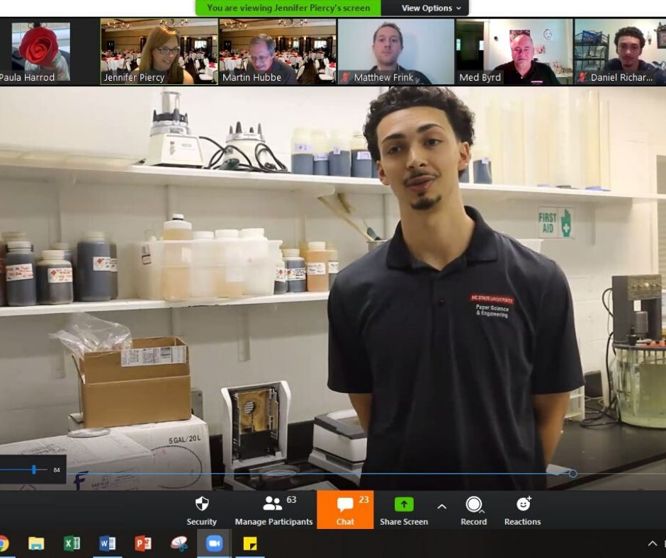 Zoom Class - Through the Eyes of the Most Congenial Senior -Forest Biomaterials NC State University