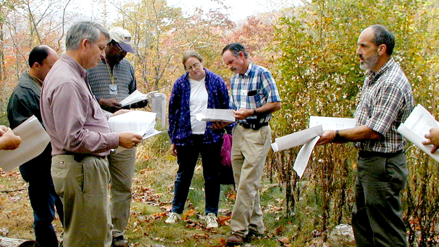 Extension agents in the field - Publications - Forestry and Environmental Resources Spotlight: William Casola - Forestry and Environmental Resources NCState University