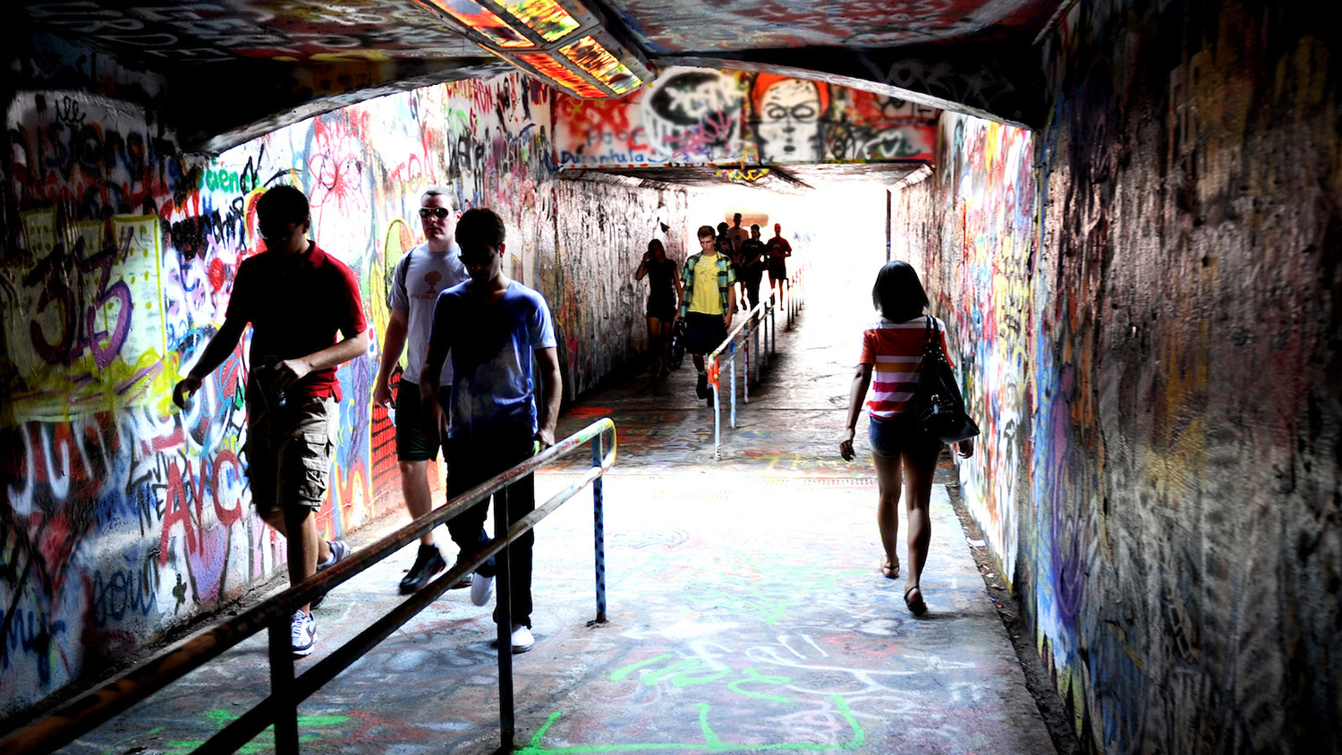 Tunnel on campus