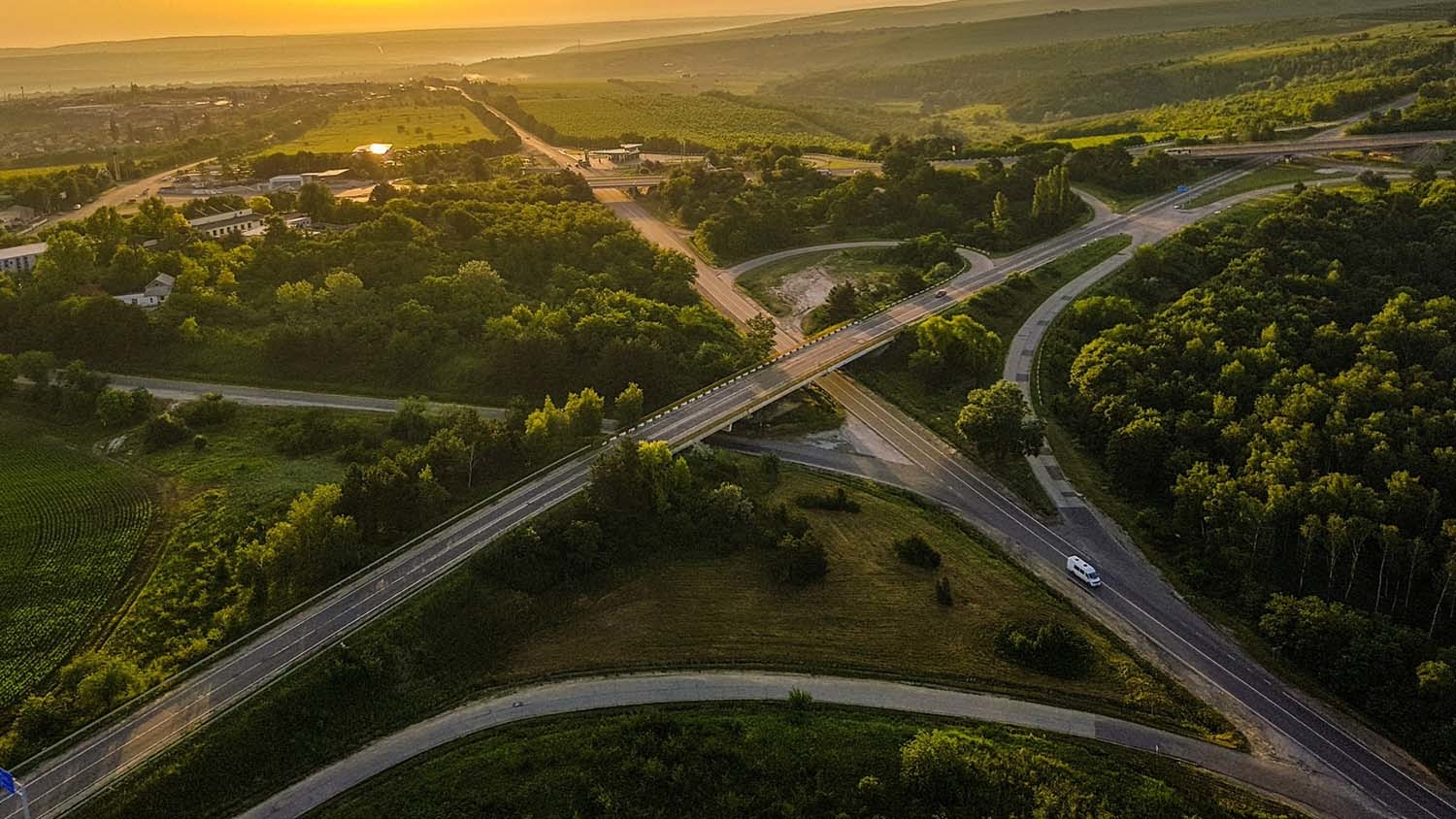 a forest separated into many parts by highways - Getting The Most Bang for Your Conservation Buck - Forestry and Environmental Resources NC State University