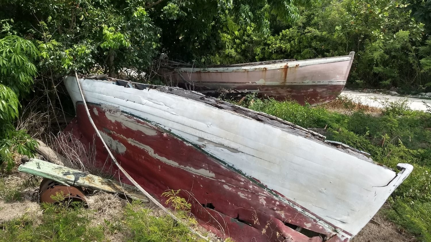 Wooden boats on Andros, the largest island in the Bahamas - Study Tracks Changes to Fishing, Culture on Island in Bahamas - Forestry and Environmental Resources NC State University