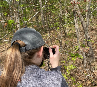 Taking a Photo in the Woods - Science Communication for a Young Audience - My Internship Experience -Forestry and Environmental Resources NCState University