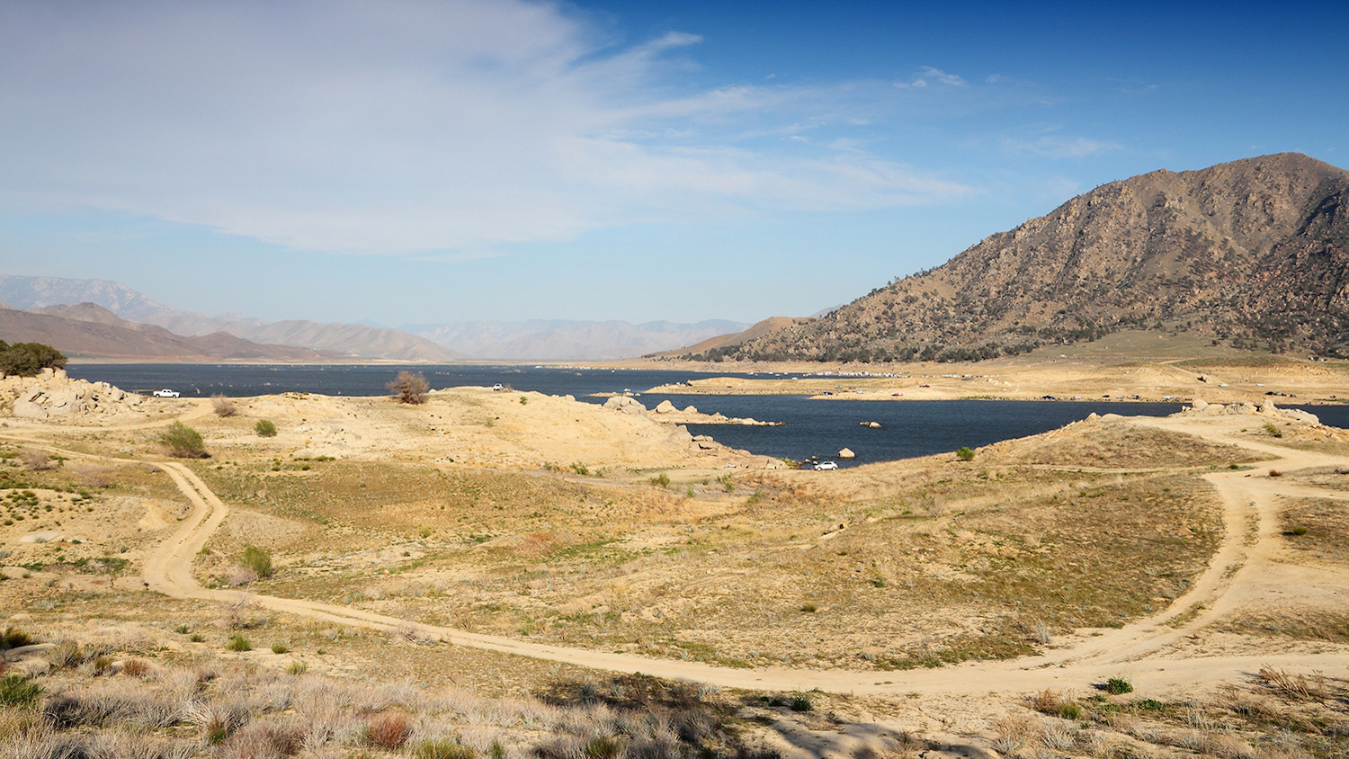 Lake Isabella in Kern County, California - Ask an Expert: How is the Western U.S. Drought Impacting the Power Grid? - Forestry and Environmental Resources Department at NC State