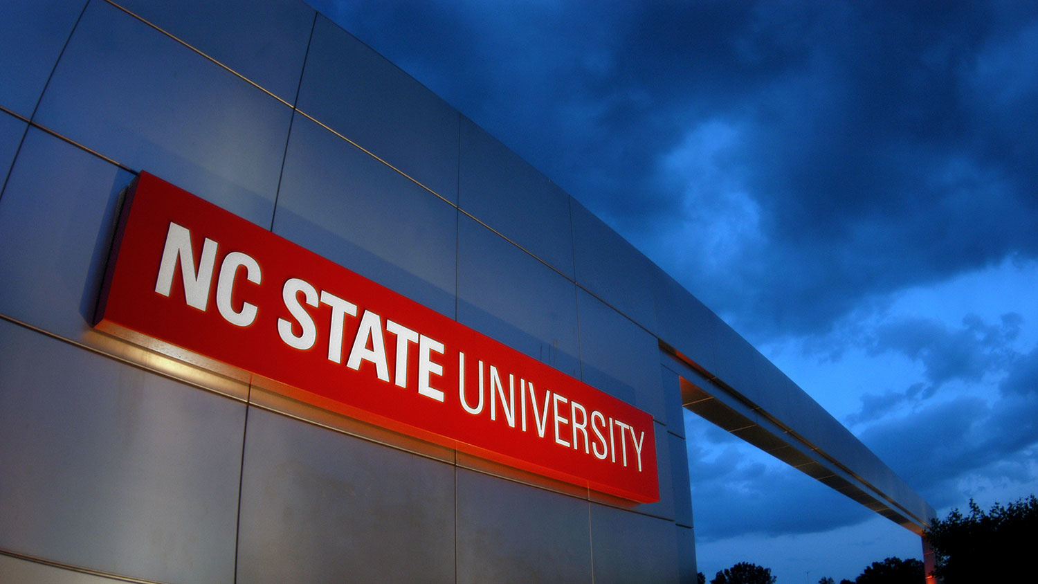NC State gateway at sunset - Grant Will Fund Climate Resilience Strategies for Frontline Communities in the Carolinas - Forestry and Environmental Resources NC State University