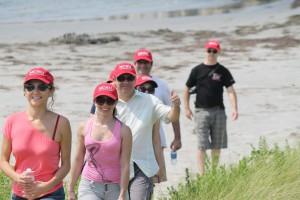 participants of Interdisciplinary Doctoral Seminar during fieldtrip to Outer Banks