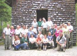 Attendees at the Cradle of Forestry