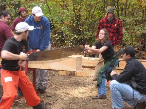 Crosscut saw competition