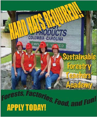 2013 Sustainable Forestry Teacehrs Academy - Apply Now