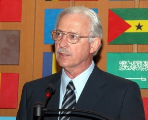 David Harcharik, former Deputy Director-General of the Food and Agriculture Organization (FAO) of the United Nations