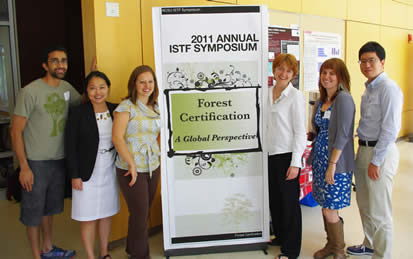 Recent NCSU Chapter of ISTF Symposium organizers.