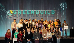 The attendees that received a scholarship to attend GREENBUILD 2013.