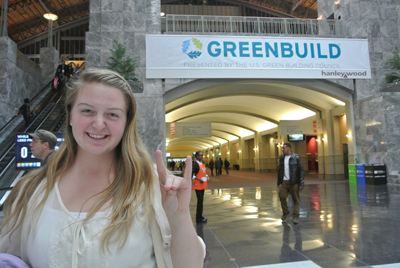 Lauryn, an Environmental Technology and Management student, attended GREENBUILD 2013 to learn more about sustainability.