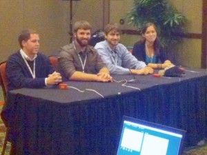 NCSU SAF Student Chapter 2013 Quiz Bowl Team from left to right: Thomas Harris, Matthew Haunsperger, Alex Thompson, Courtney Johnson