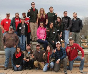2015 Southeastern Wildlife Conclave Team.