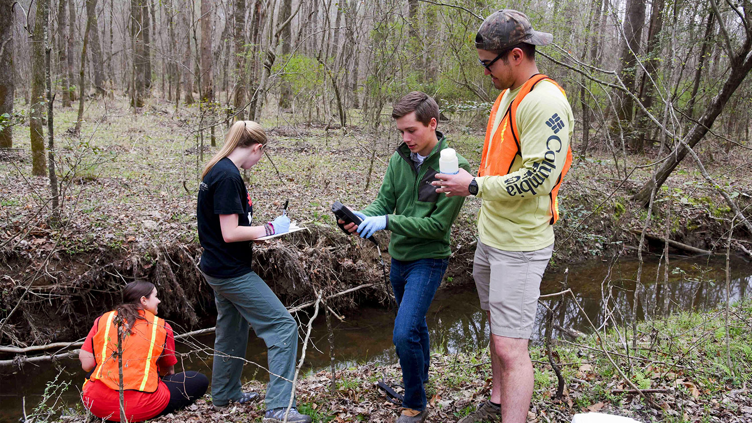 water research - Environmental Science and Technology - Forestry and Environmental Resources Spotlight: William Casola - Forestry and Environmental Resources NC State University