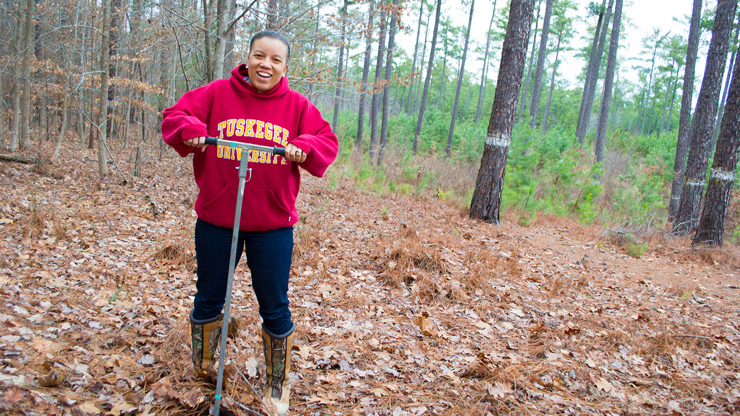 zakiya-1500 - Forestry Prof for Diversity Efforts - Forestry and Environmental Resources NC State University
