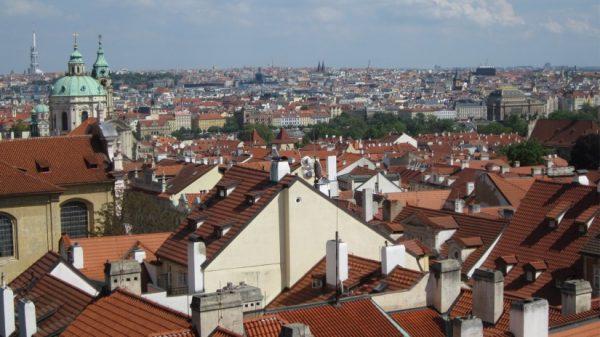 A photo of Prague