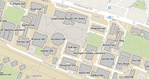 geospatial location on ncsu campus