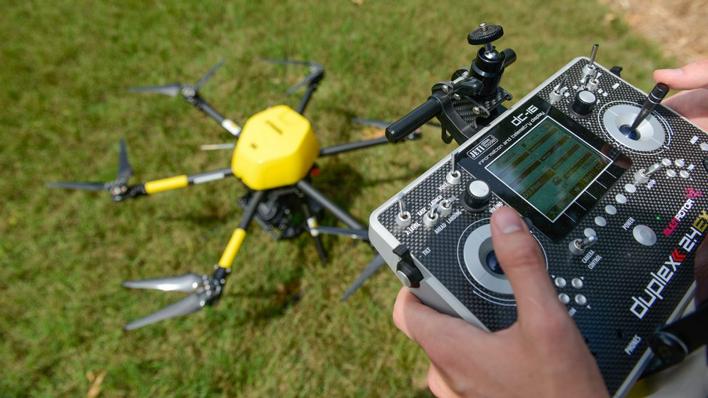 drone with remote control