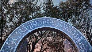 Gate to Raulston Arboretum