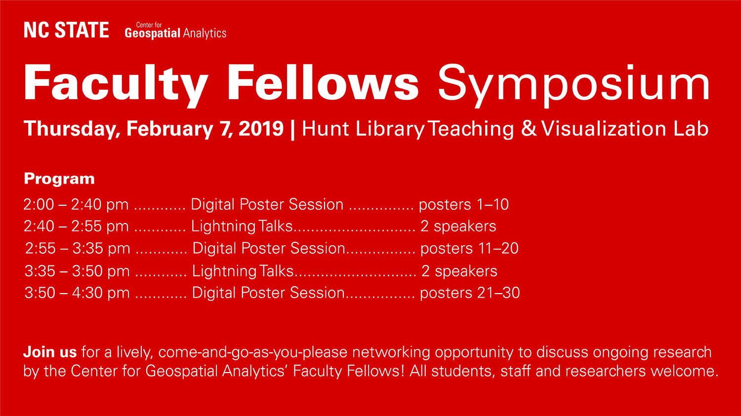 Faculty Fellows Symposium