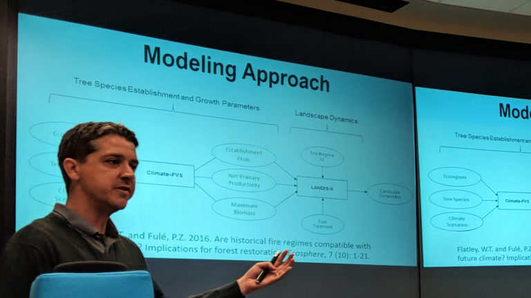 A presentation about the LANDIS-II modeling approach