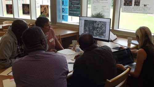 working with stakeholders on Johns Island