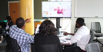 Teachers at GAPS explore geospatial applications