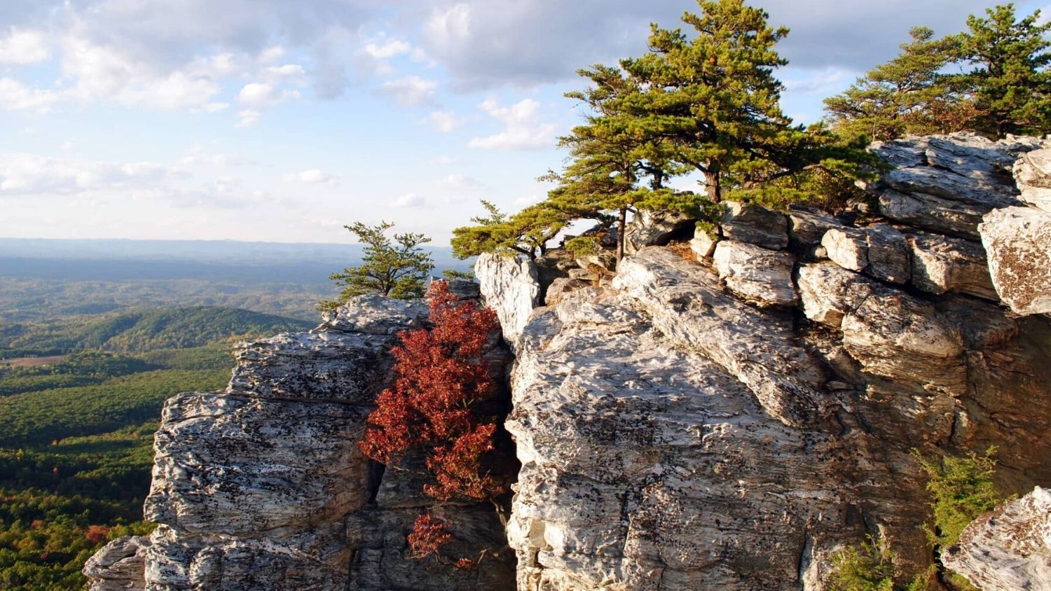 Which North Carolina State Park are you?, College of Natural Resources, Hanging Rock courtesy Shutterstock - 1
