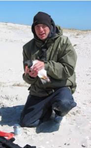 Steve Gordsky in field
