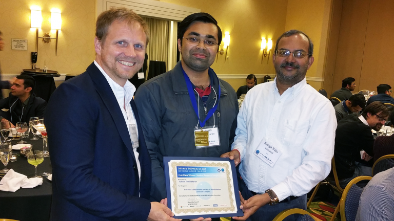 Research award for geospatial