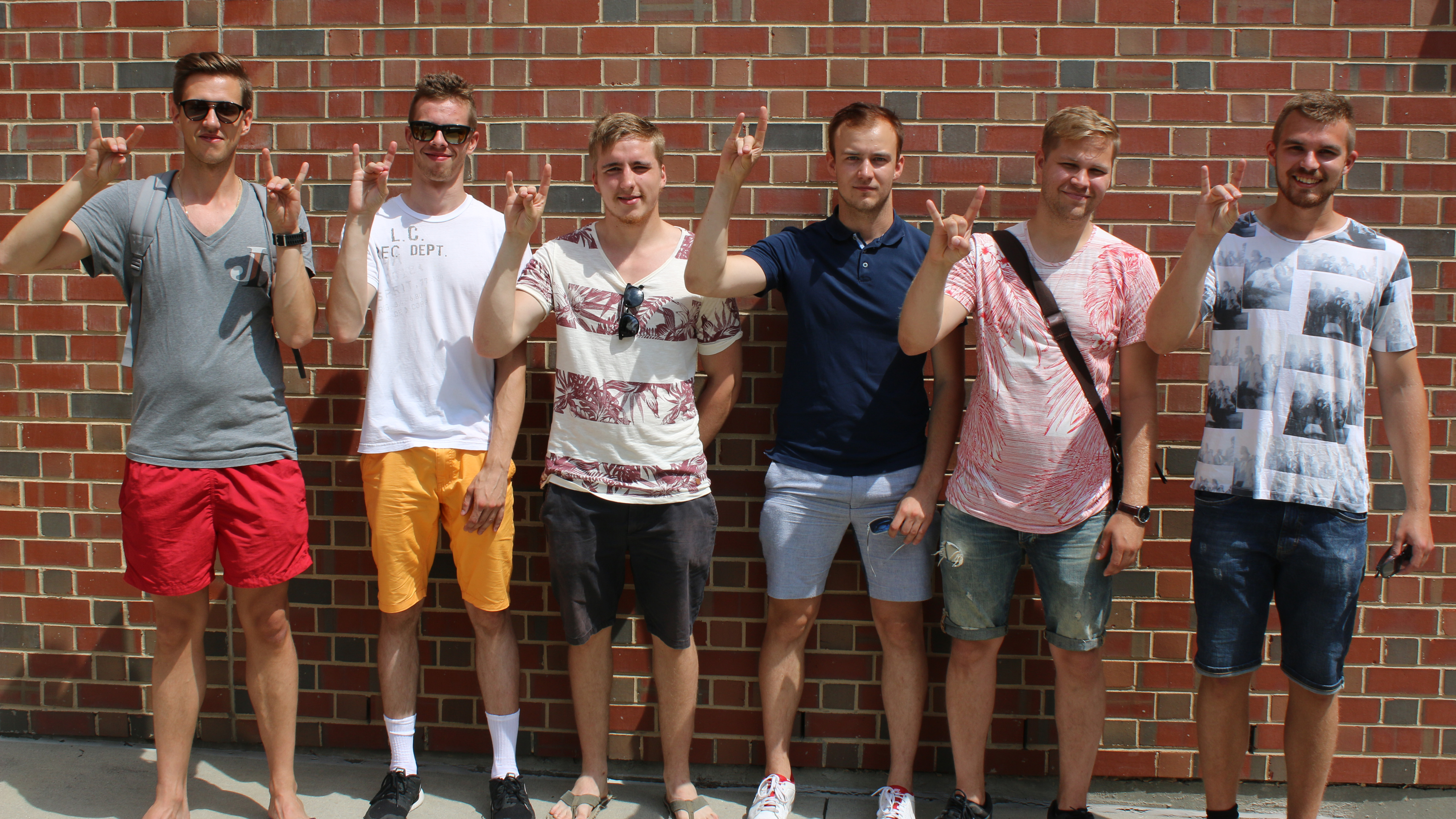 Exchange students from Finland