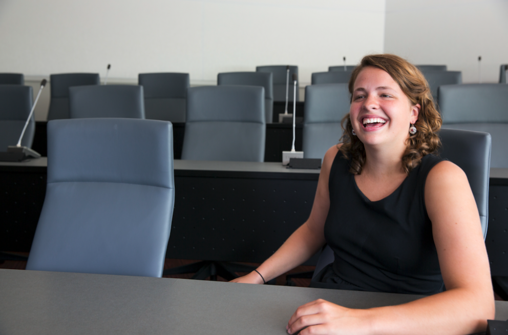 Megan Owens Goodnight Scholar Feature