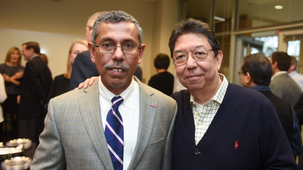 Dr. Hasan Jameel and Dr. Vincent Chiang