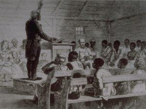 Preacher John Chavis drawing