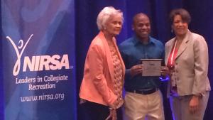 Brandon Smith NIRSA Award