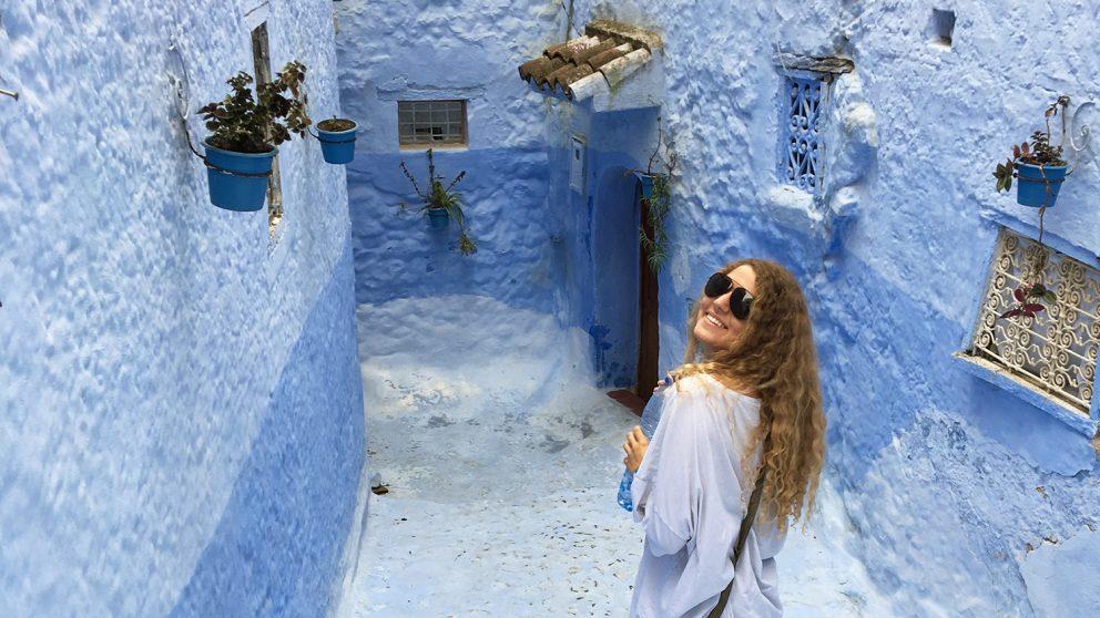 Kamilla Edwards in Valencia Spain