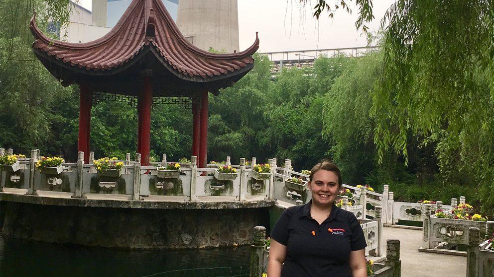 Heather Starkey in China