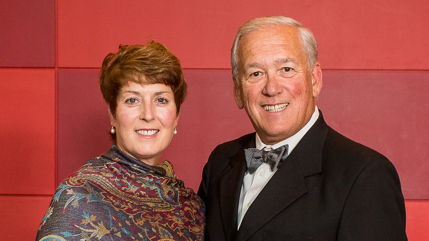 Jim Wall and his wife