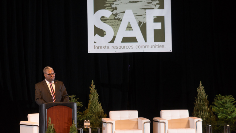 Sam Cook acceptance speech at the SAF Conference