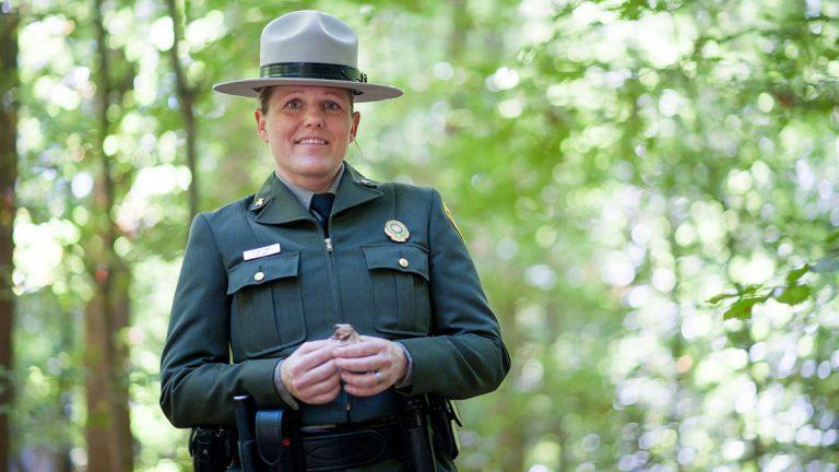Park Ranger Jessica Phillips