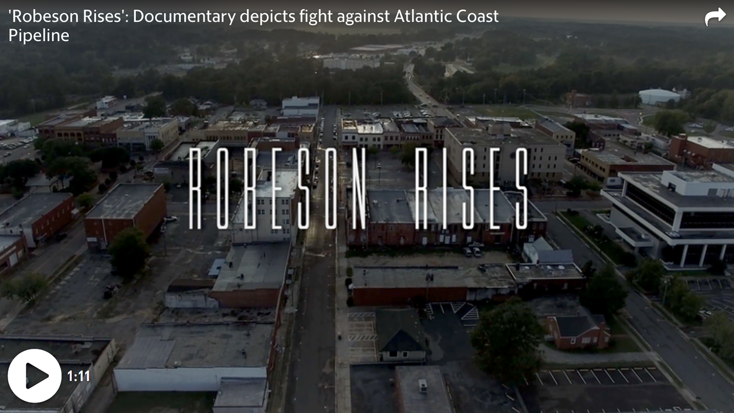Robeson Rises documentary film