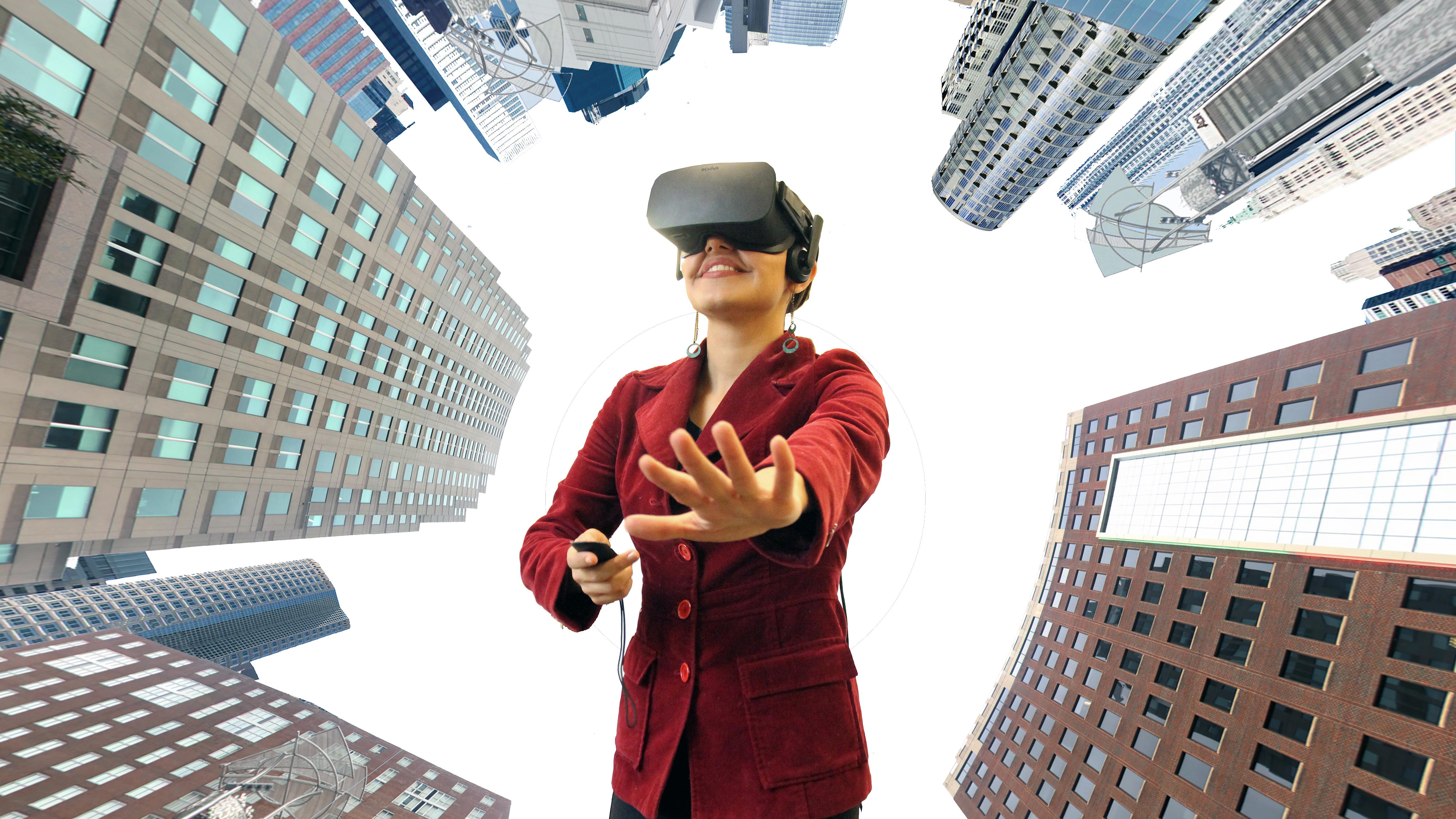 VR skyline
