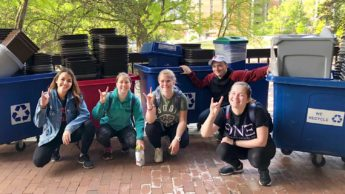 Zero Waste Wolves student club