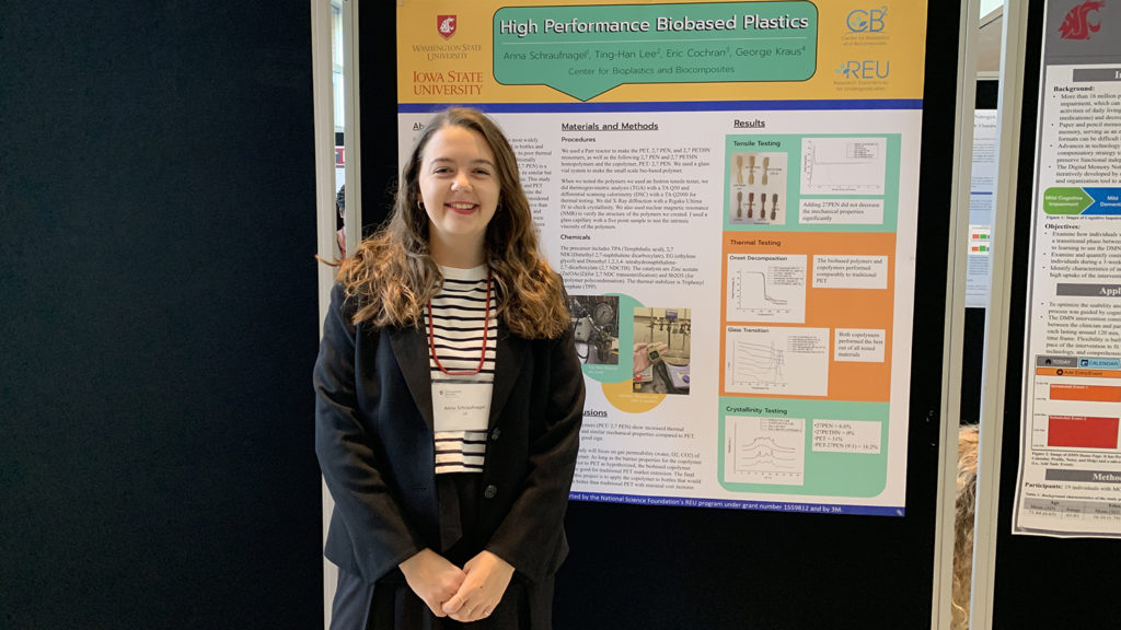 Anna Schraufnagel - Student Represents NC State at World Bioeconomy Conference
