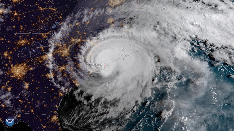 hurricane satellite