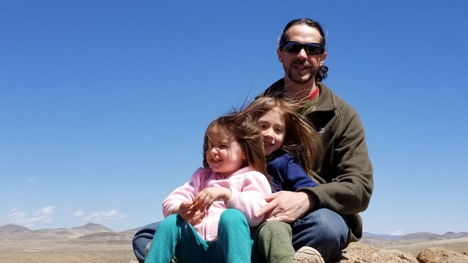 Family Photo - Five Questions with Regional Information Management Director Emrys Treasure, College of Natural Resources, Emrys Treasure, feature - College of Natural Resources News NC State University