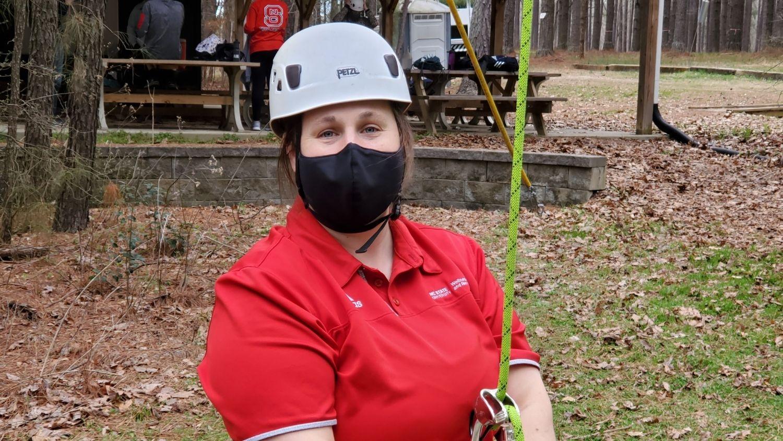 Five Questions with Outdoor Adventures Coordinator Lauren Stover, College of Natural Resources, Lauren Stover, feature